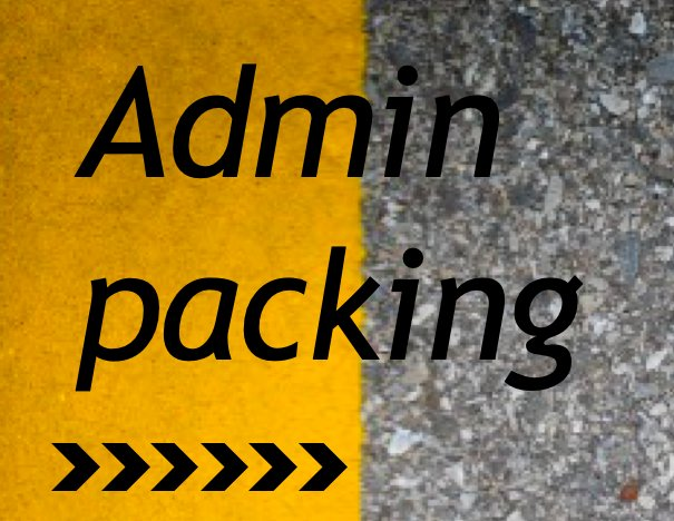 URGENTLY NEEDED  ADMIN PACKING