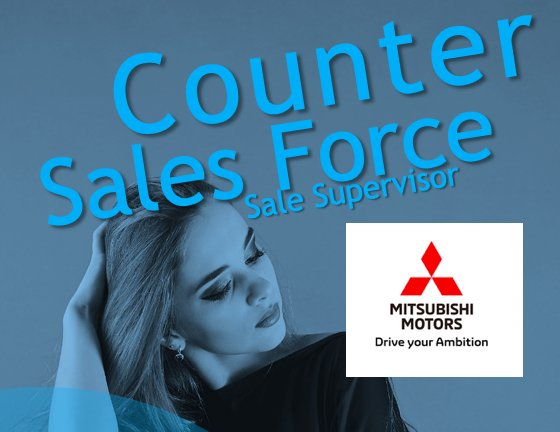 Lowongan Kerja Counter Sales, Sales Force , Sales Supervisor - Wonosobo