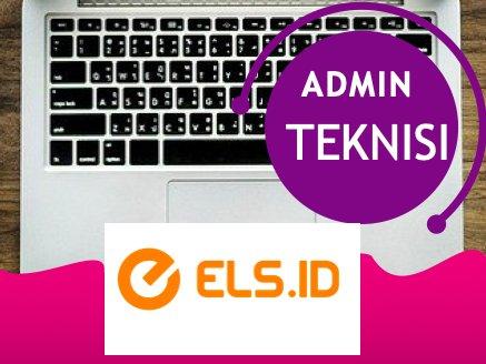Lowongan Kerja Admin Teknisi Exp : 31 Agustus 2021